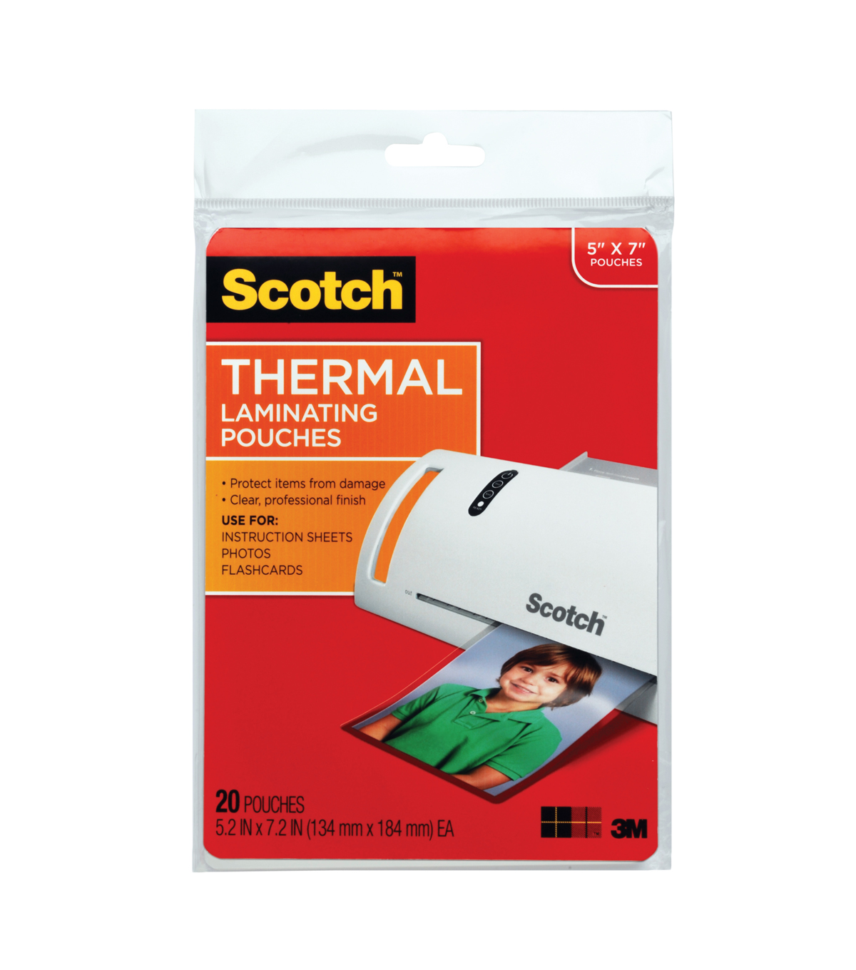 Scotch® Thermal Pouches 5x7