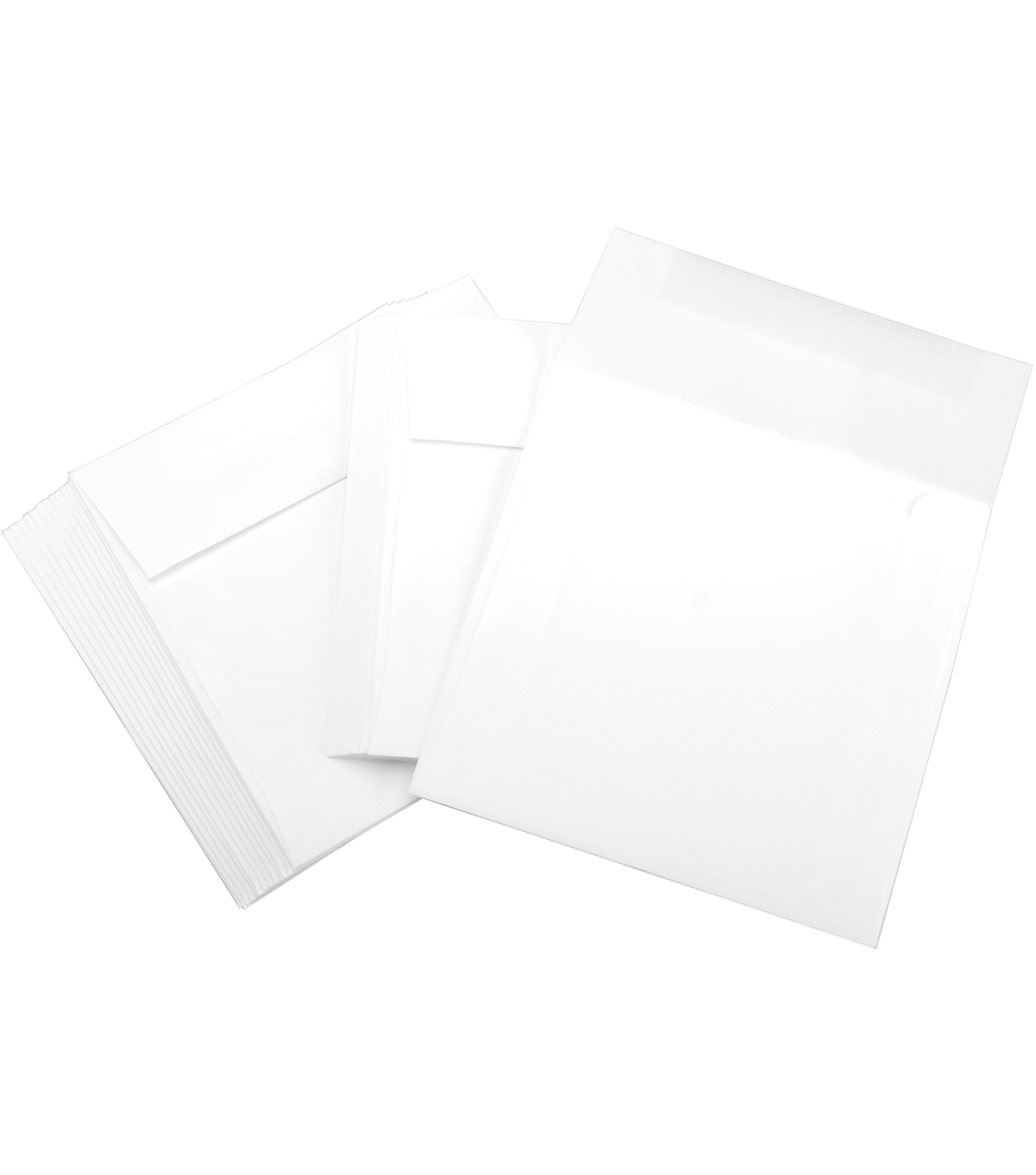 Leader Envelopes 6\u0022X6\u0022 25/Pkg-White