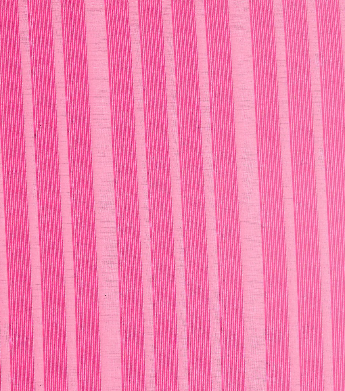 Sew Sweet Collection Ombre Embroidered Burnout Stripe Tonal Pink Fabric