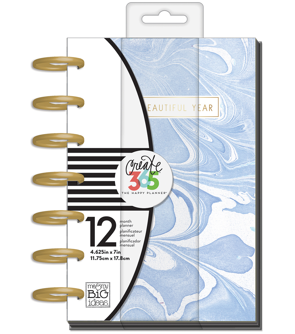 The Happy Planner Mini Planner-Modern Marble
