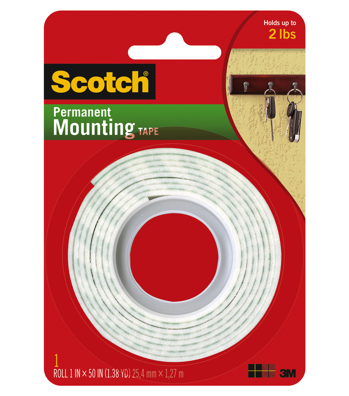 Scotch Mounting Tape-1 inch