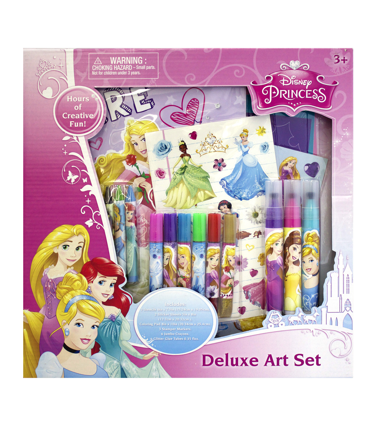 Princess Deluxe Art Set