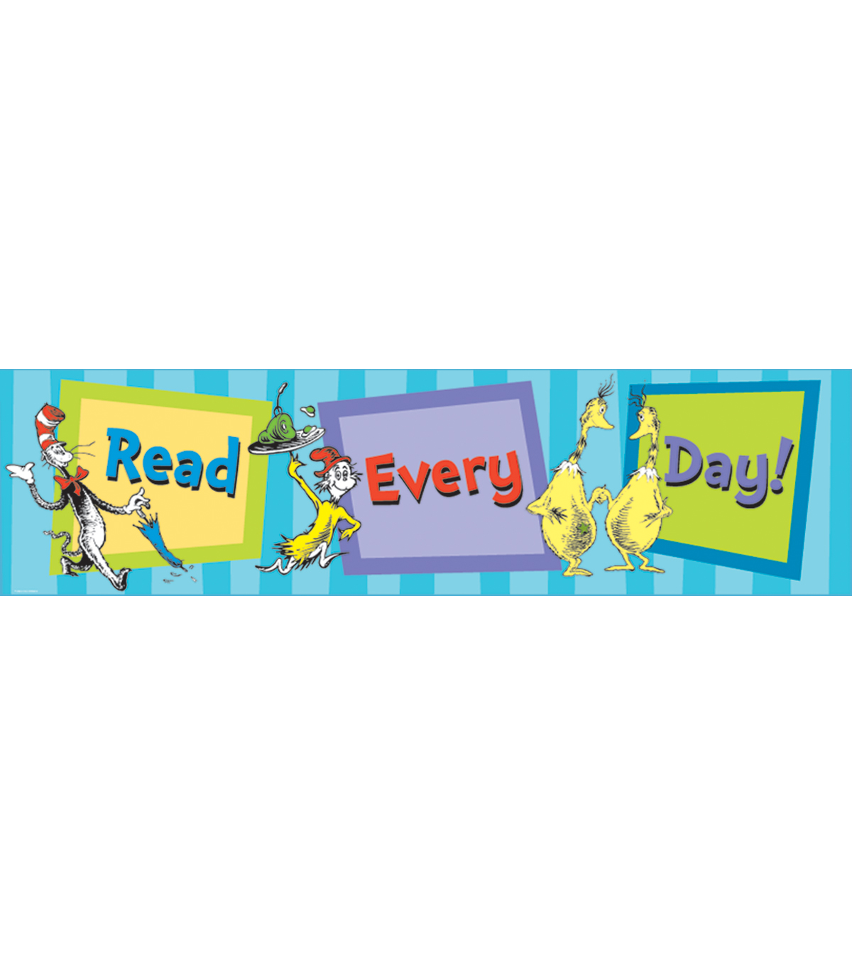 Dr. Seuss™ Cat in the Hat Horizontal Banner-Read Every Day