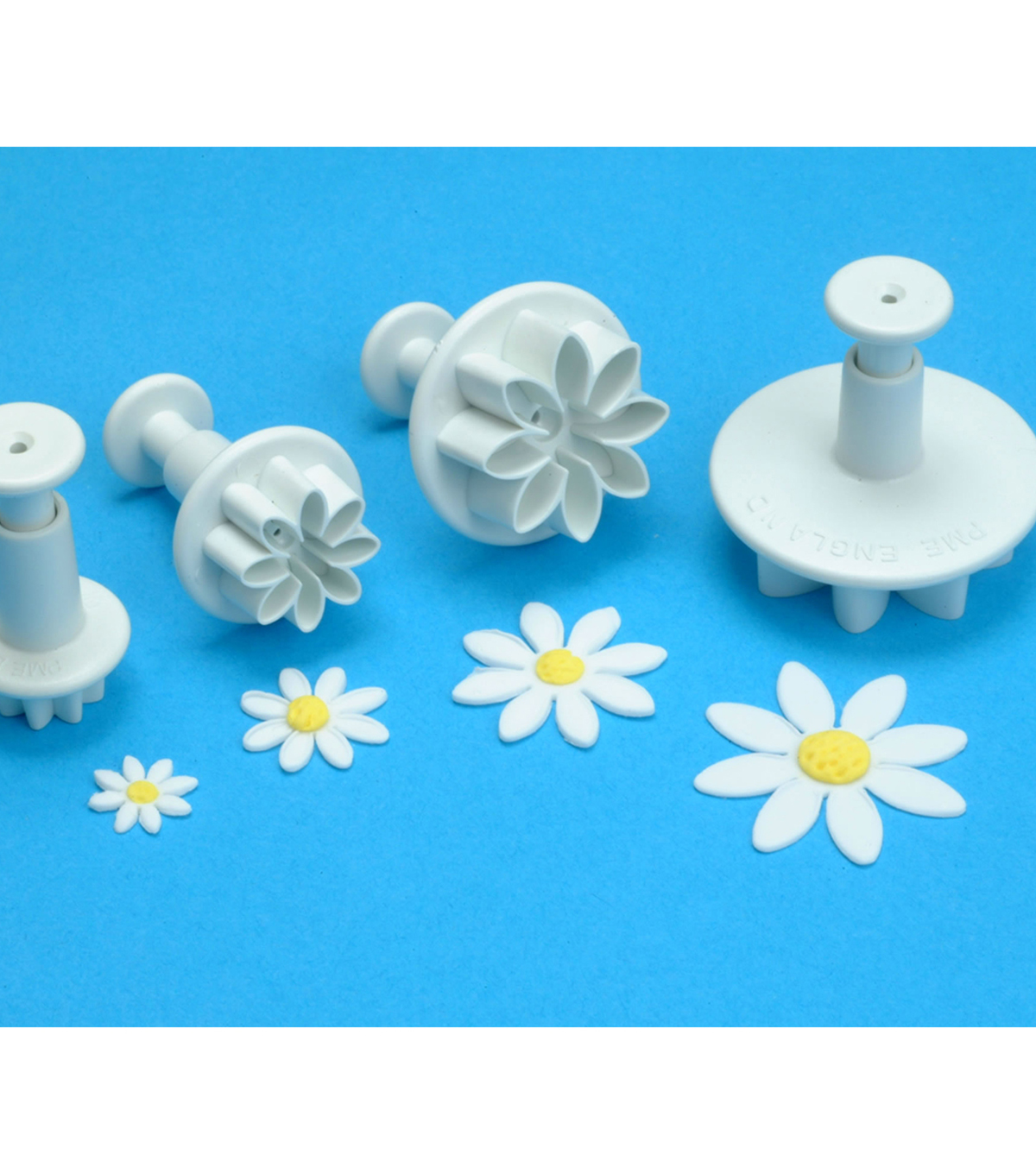 PME 4 Pack Plunger Cutters-Daisy Marguerite