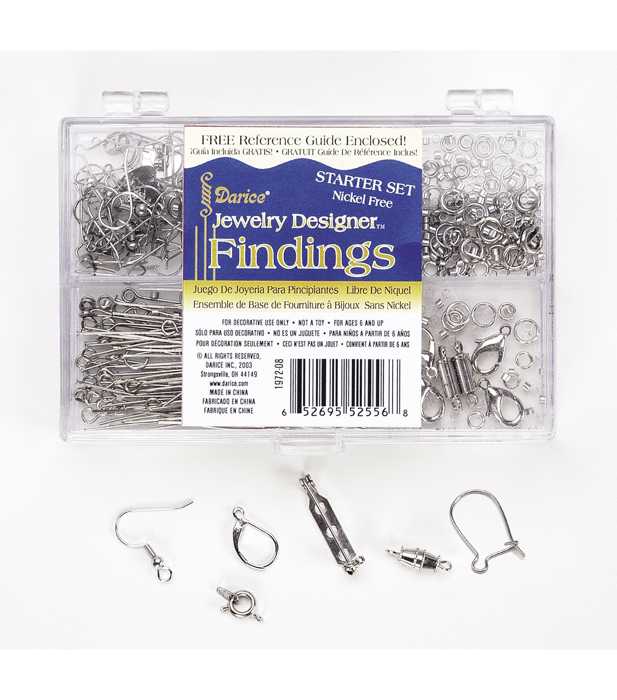 Finding Starter Set, Nickel Free, Silver