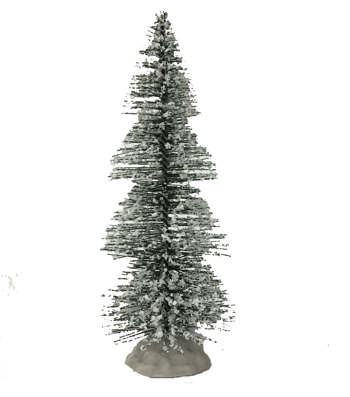 Maker\u0027s Holiday Snow-Flecked LED Sisal Tree