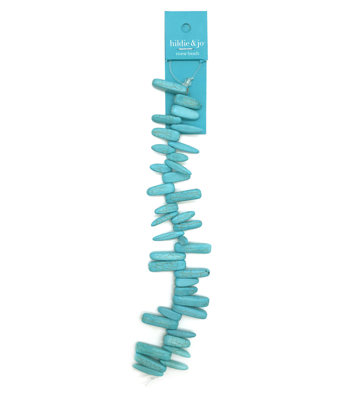 hildie & jo™ 7'' Strung Beads-Turquoise Stone