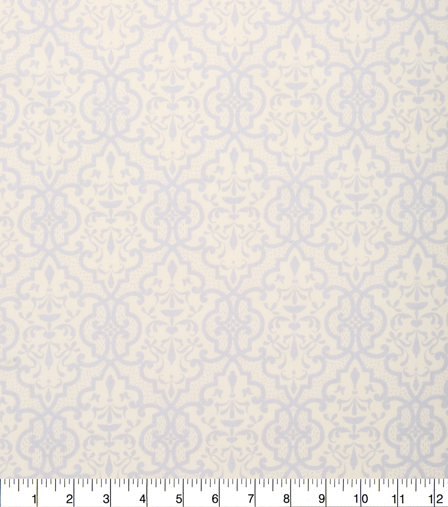 "Keepsake Calico™ Cotton Fabric 43""-Gray and Cream Lace"