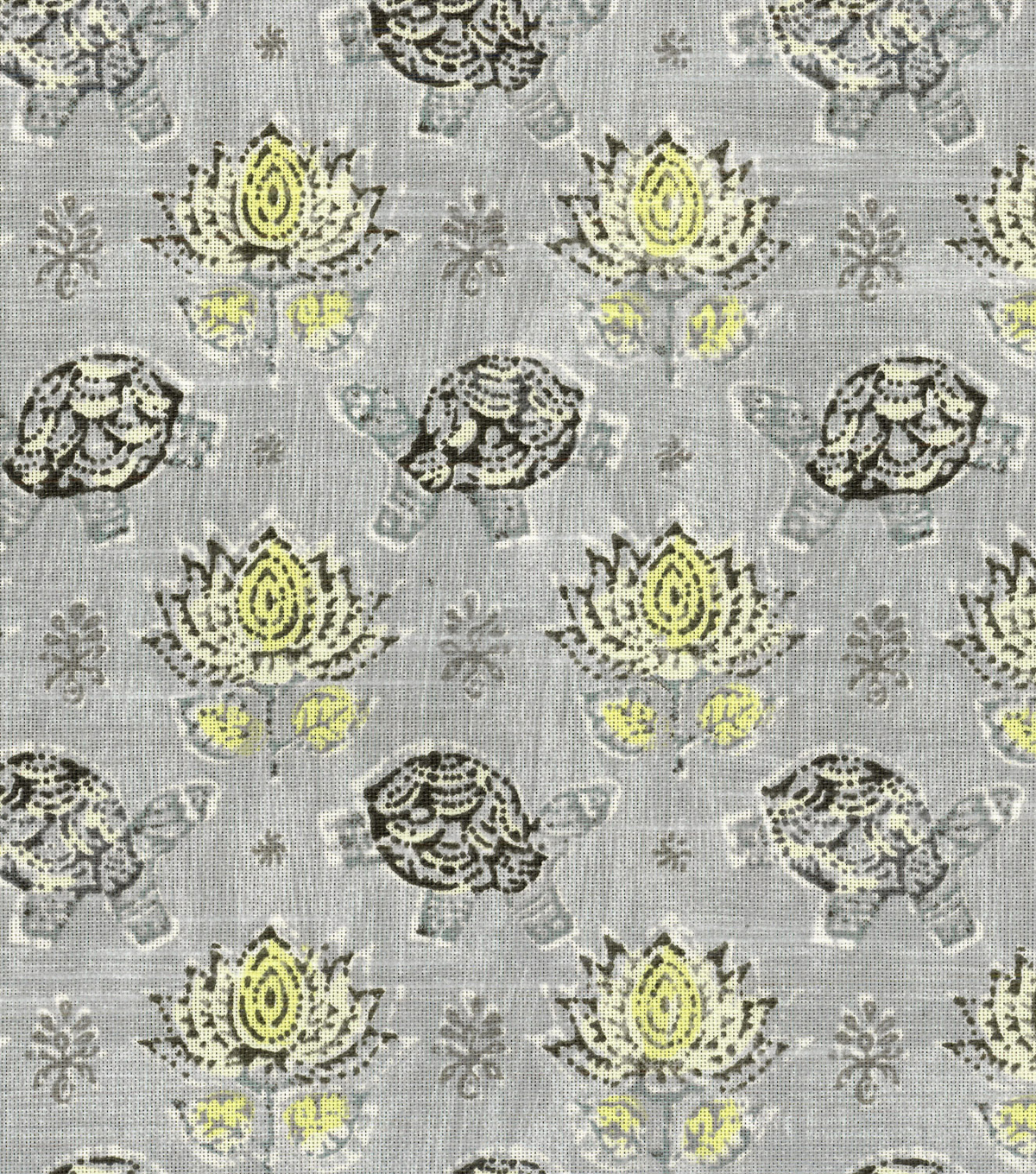 "Waverly Print Fabric 54""-Mandana/Elephant"