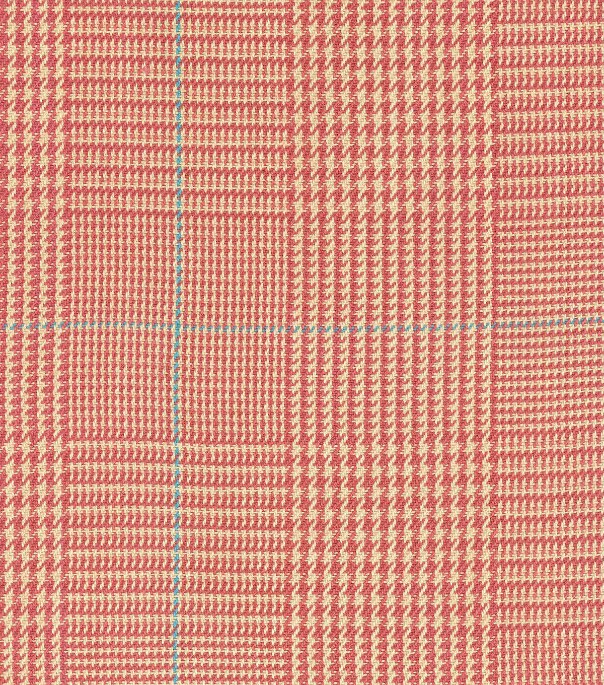 "Waverly Upholstery Fabric 54""-Grantham Plaid/Rosehip"