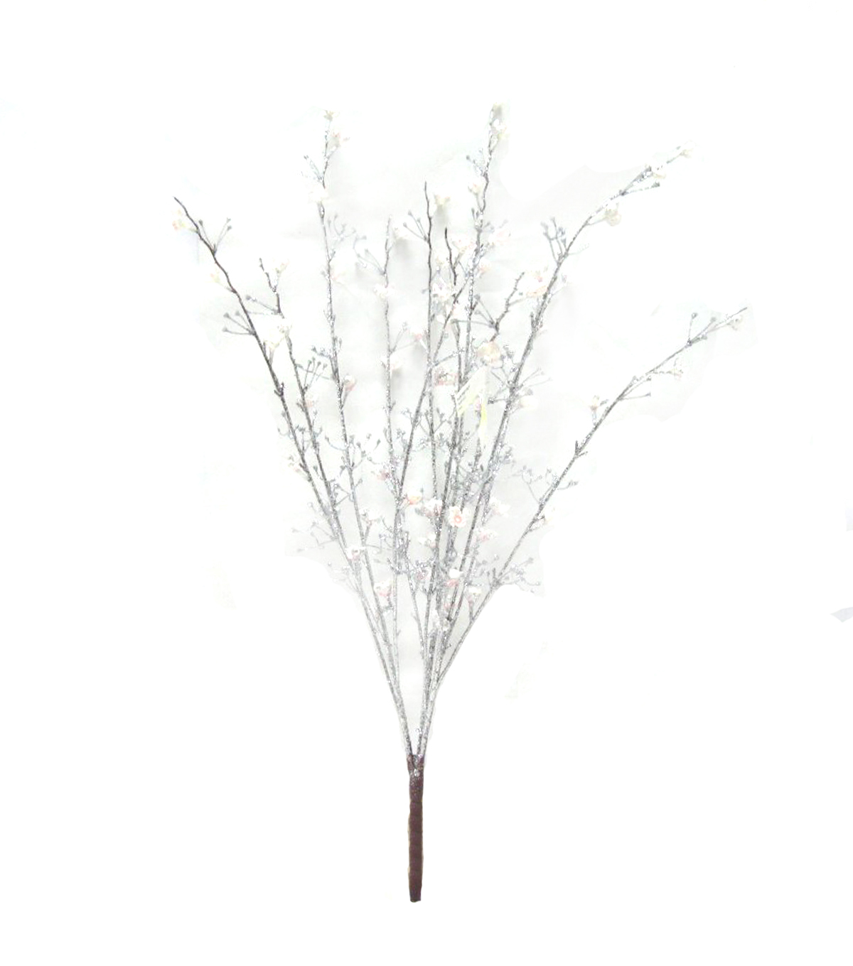 Blooming Holiday Flower Twig Bush-Pink