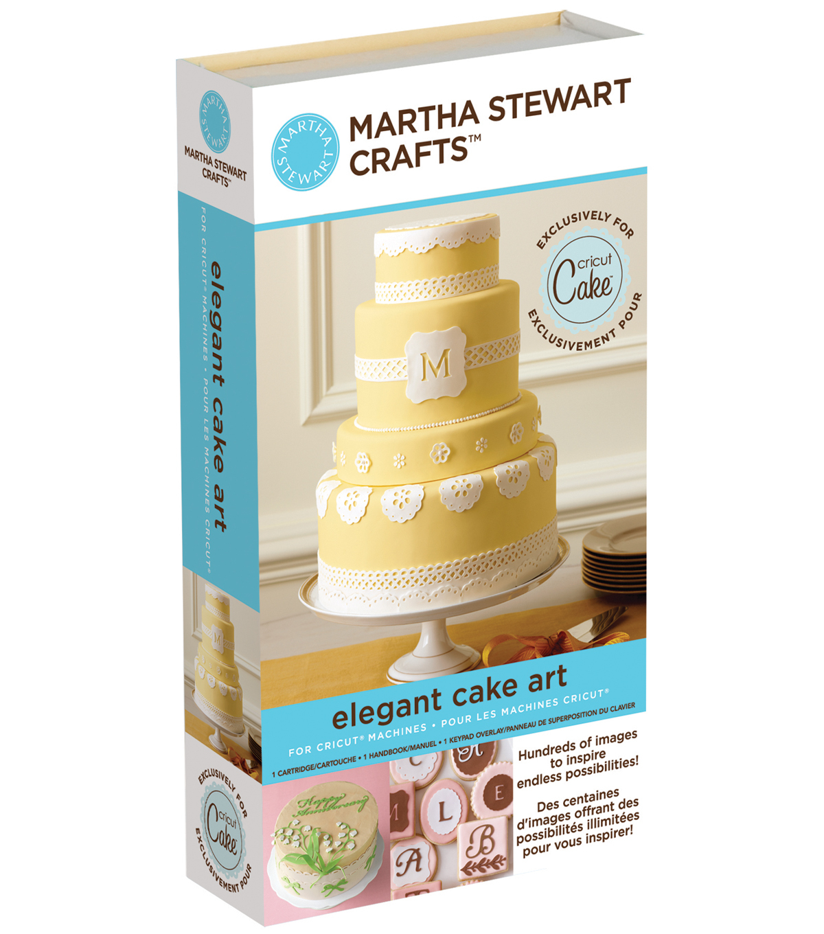 Cricut Martha Stewart Crafts Shape Cartridge-Elegant Cakes