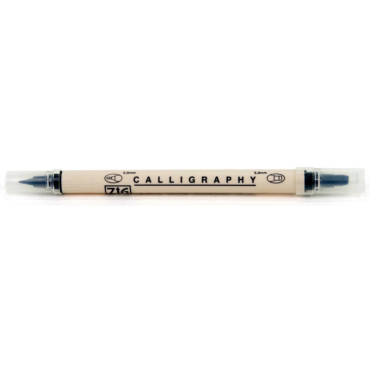 EK Success Zig Dual Tip Calligraphy Pen Black