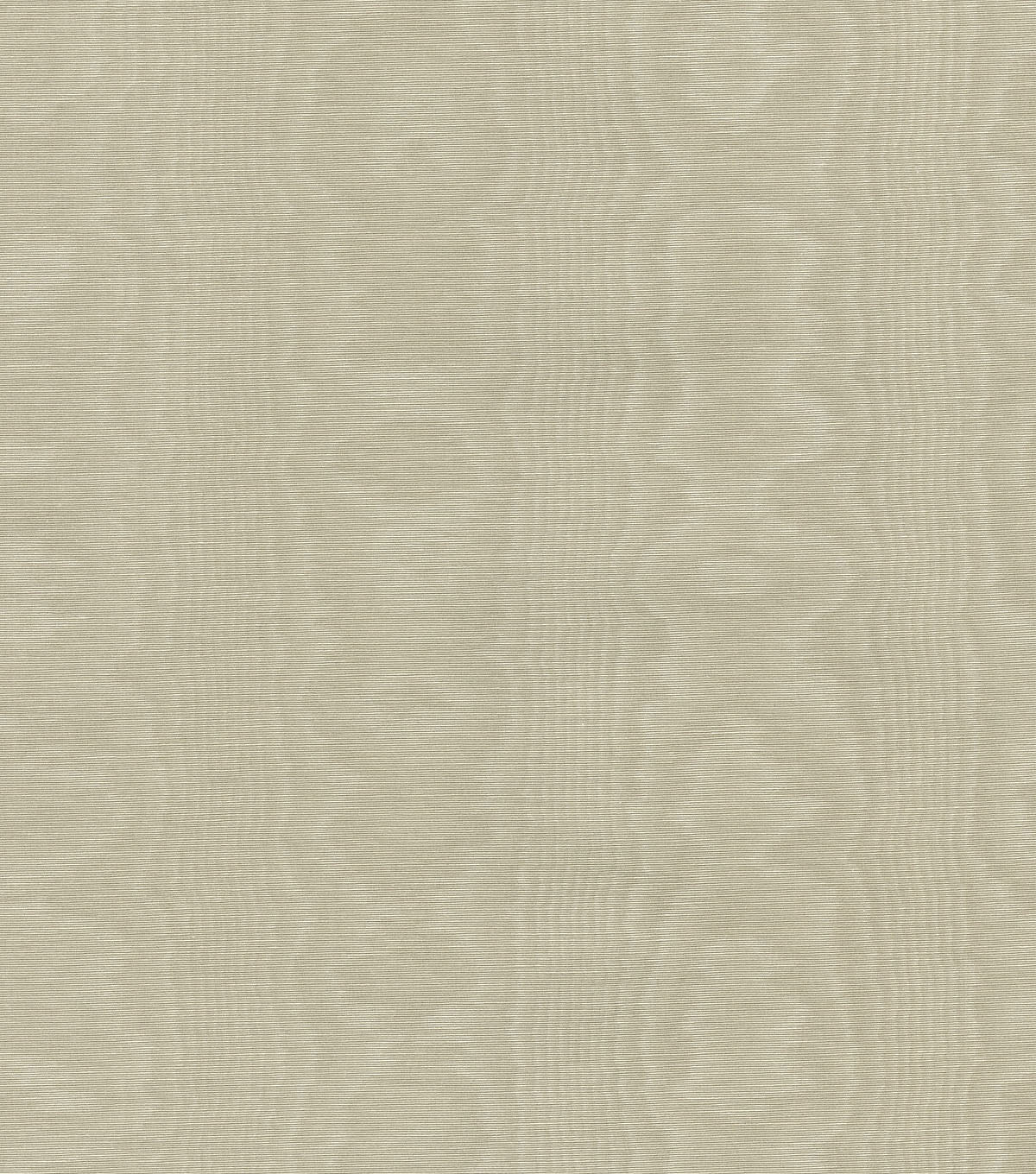 Williamsburg Solid Fabric 54\u0022-Palace Moire/Linen