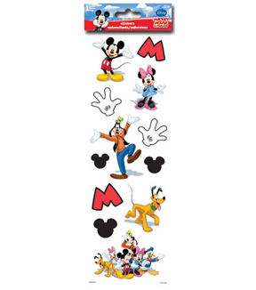 Mickey and Friends Embossed Foam Stickers