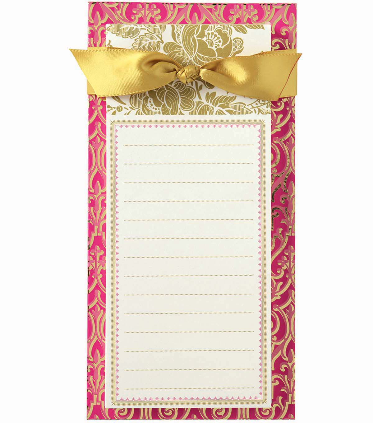 Anna Griffin Pink Solid List Pad