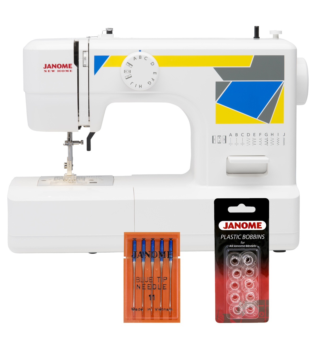 Janome MOD-11 Sewing Machine with Bonus Accessories