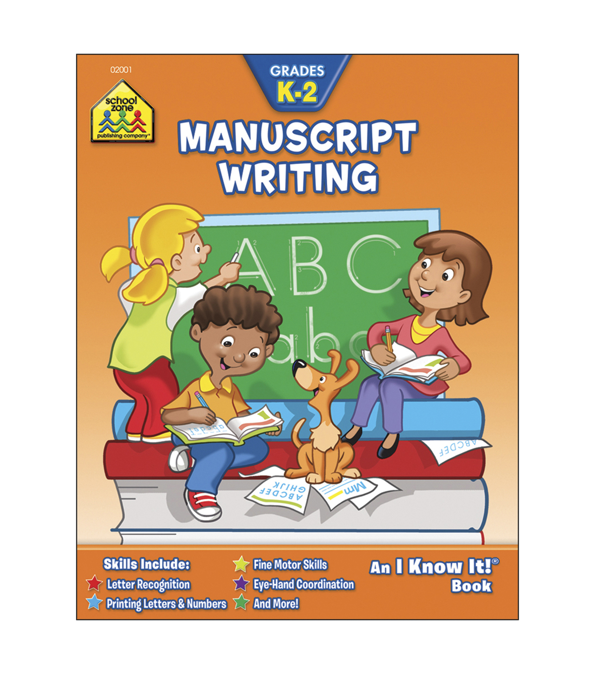 School Zone Curriculum Workbooks-Manuscript Writing