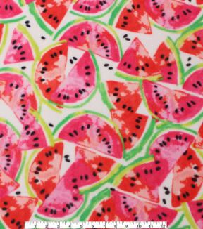 Anti-Pill Fleece Fabric 59\u0022-Watermelons