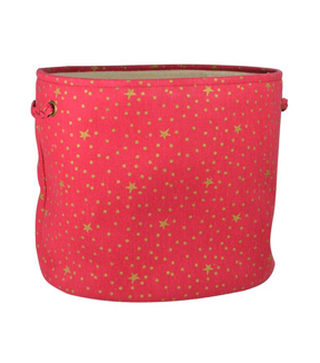 Maker\u0027s Holiday Large Soft Bin-Red Gold