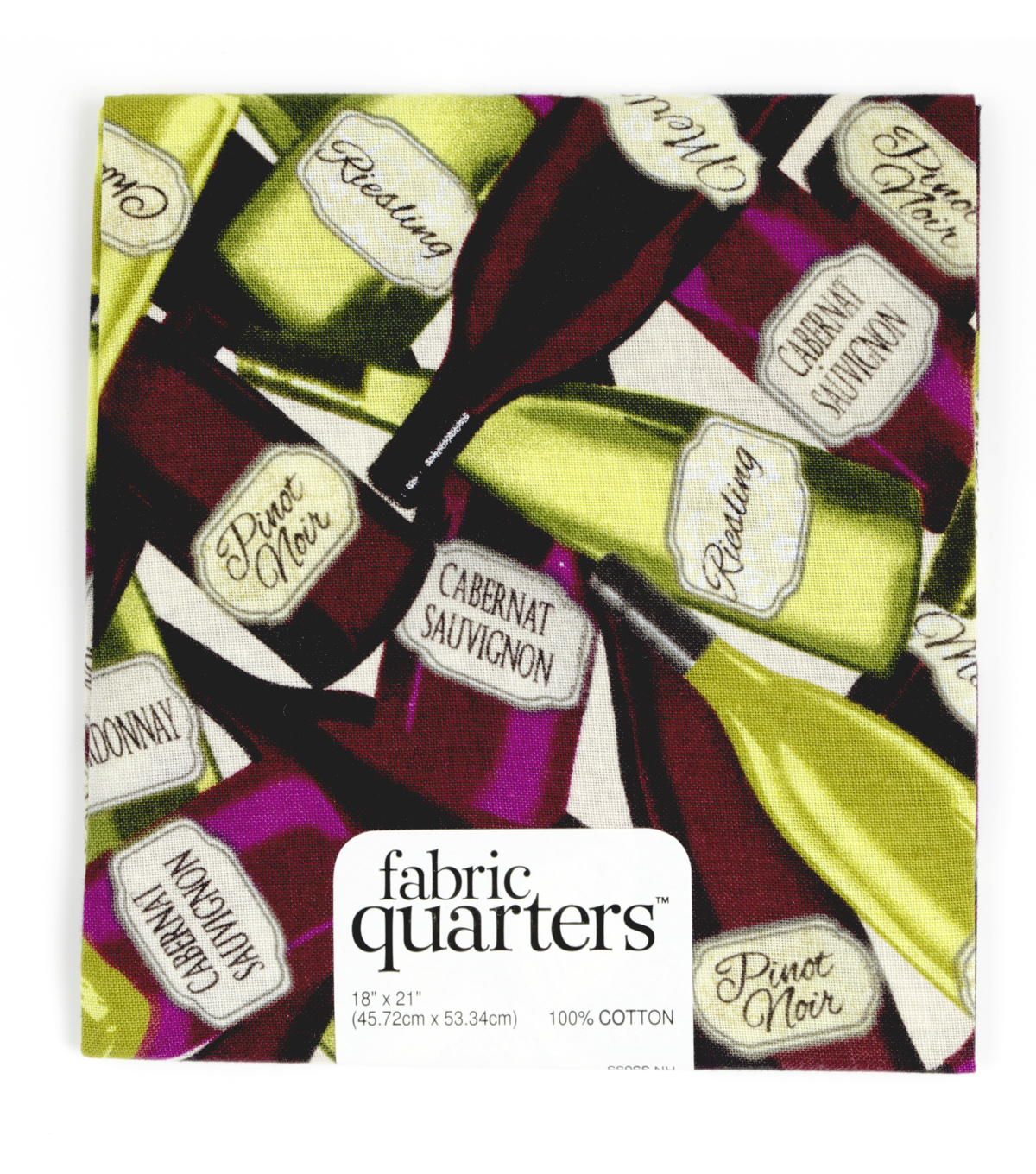 "Fabric Quarters Cotton Fabric 18""-Assorted Wine"