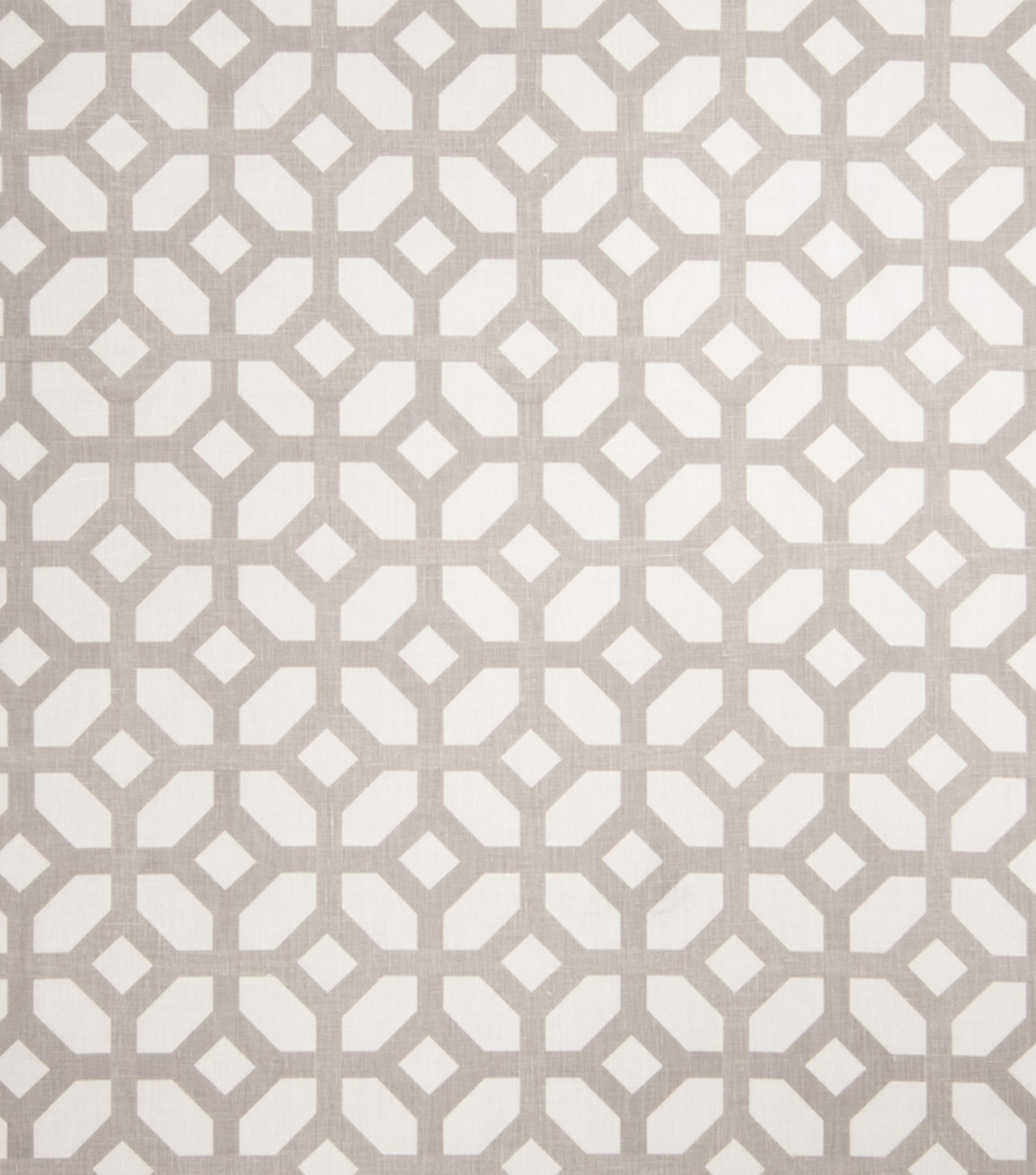 Home Decor 8\u0022x8\u0022 Fabric Swatch-Print Fabric Eaton Square Marmalade Grey