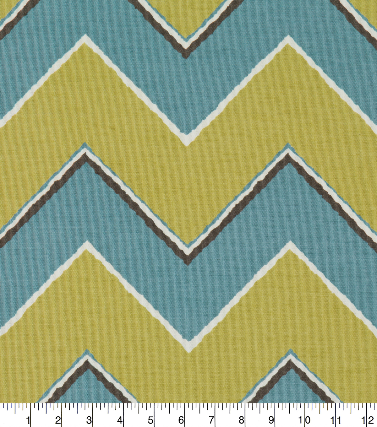 Robert Allen @ Home Print Fabric 55\u0022-Chevron Rain