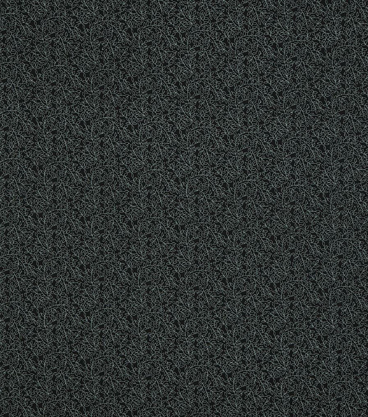 "Wide Quilt Cotton Backing Fabric 108""-Black Vine"