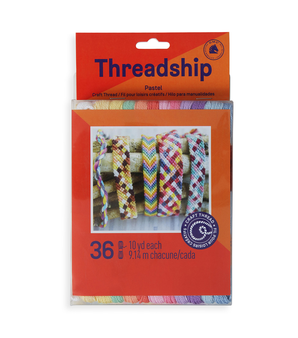 Prism Craft Thread Pack 8 Meters 36/Pkg-Pastels