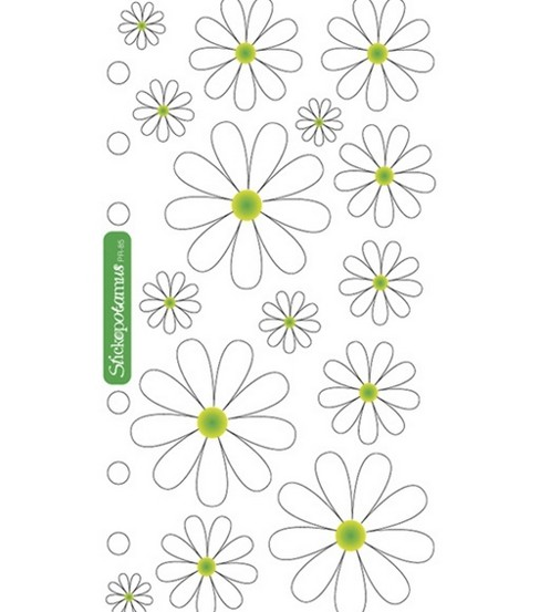 Sticko Stickers-Daisies