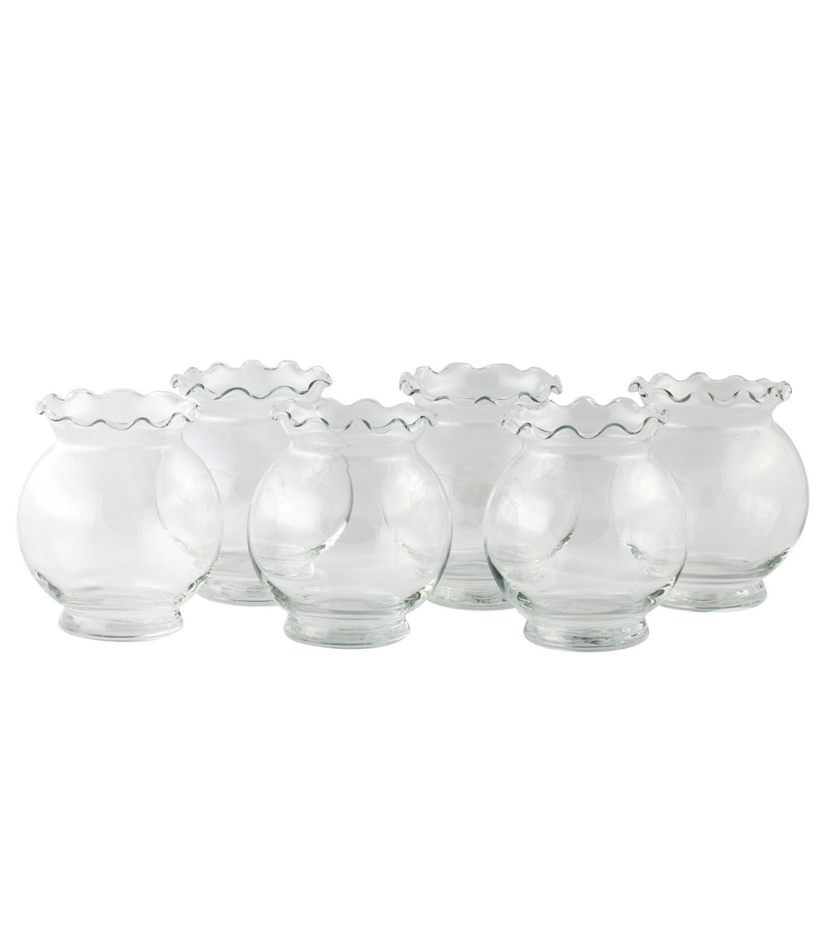 Libbey Crimp Ivy Bowl 6 Piece