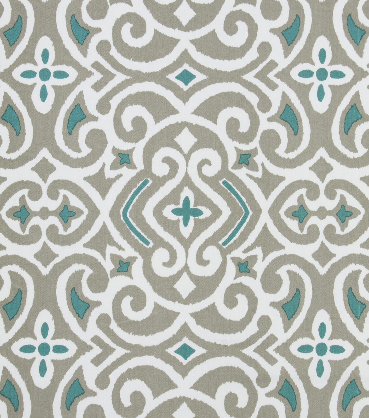 Robert Allen @ Home Print Fabric 54''-Stone Best Damask