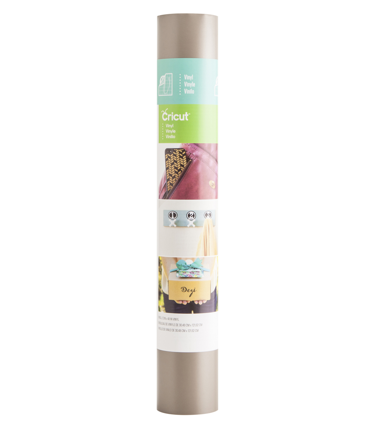 Cricut® Vinyl 12X48 Roll Platinum Metallic