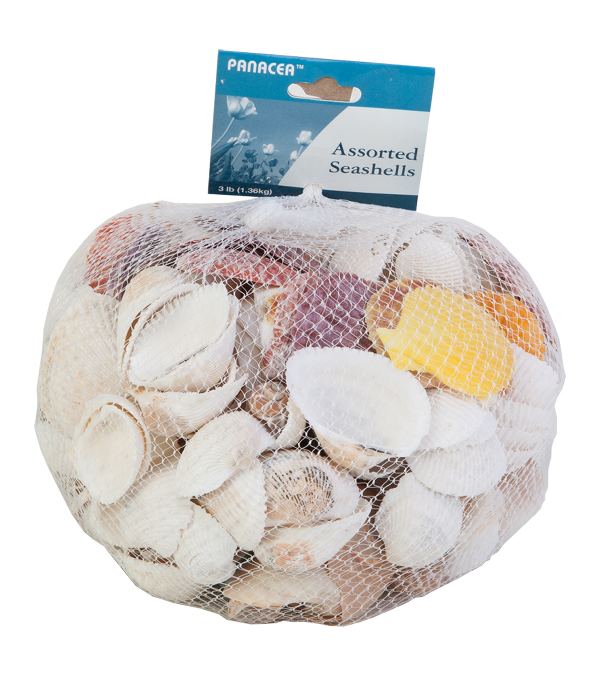 Panacea Products Assorted Sea Shells-3 lbs