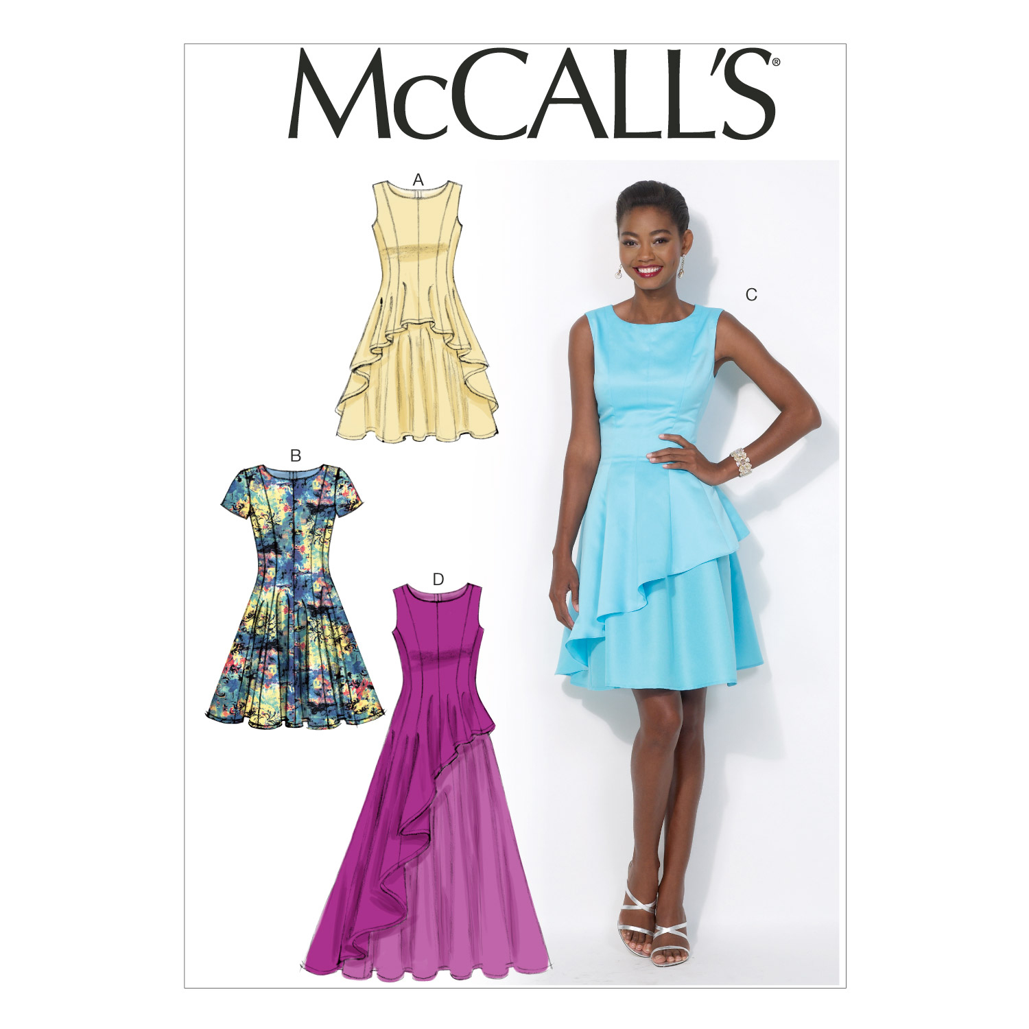 McCall\u0027s Misses Special Occasion-M7091