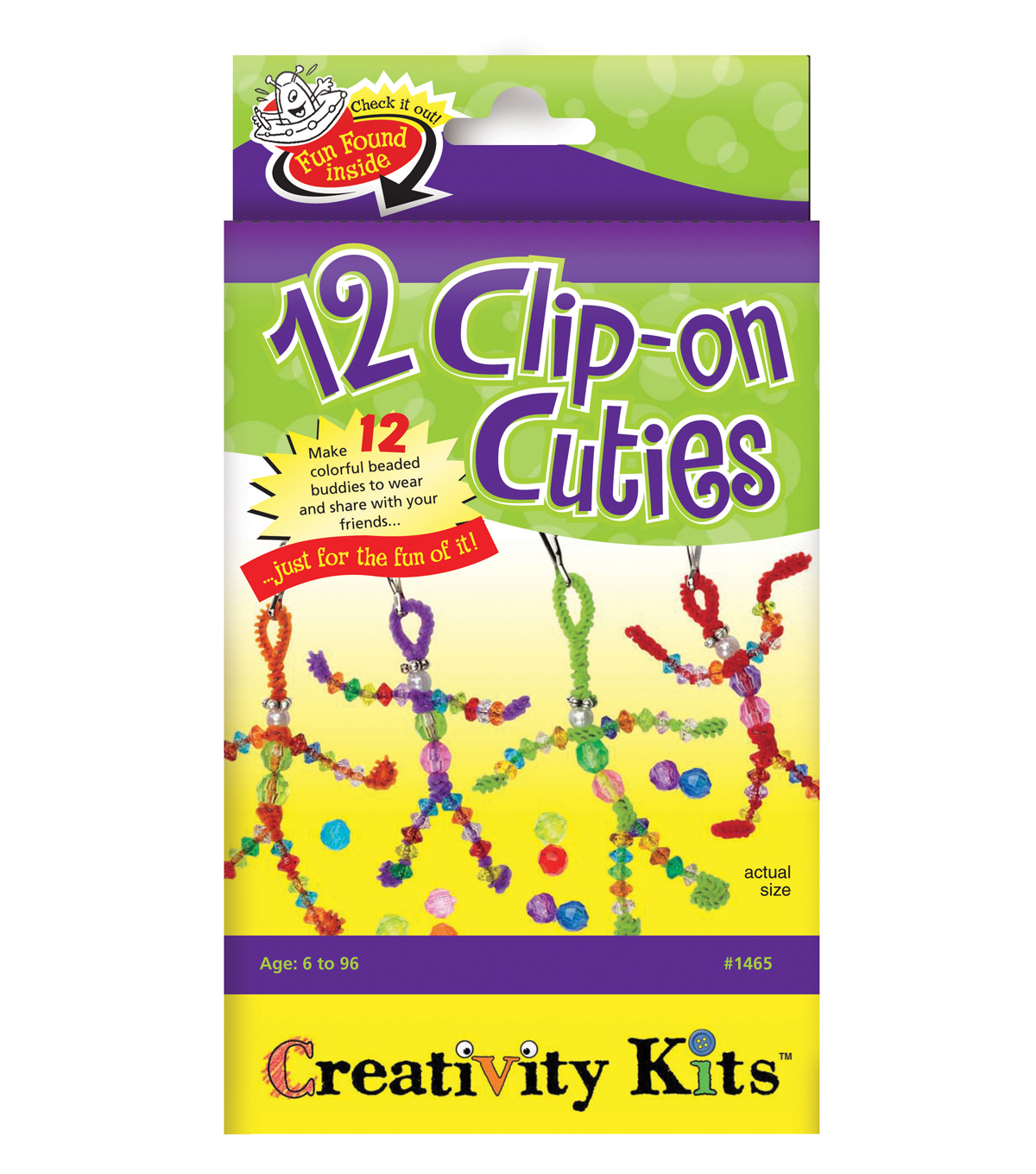 Creativity For Kids Clip On Cuties