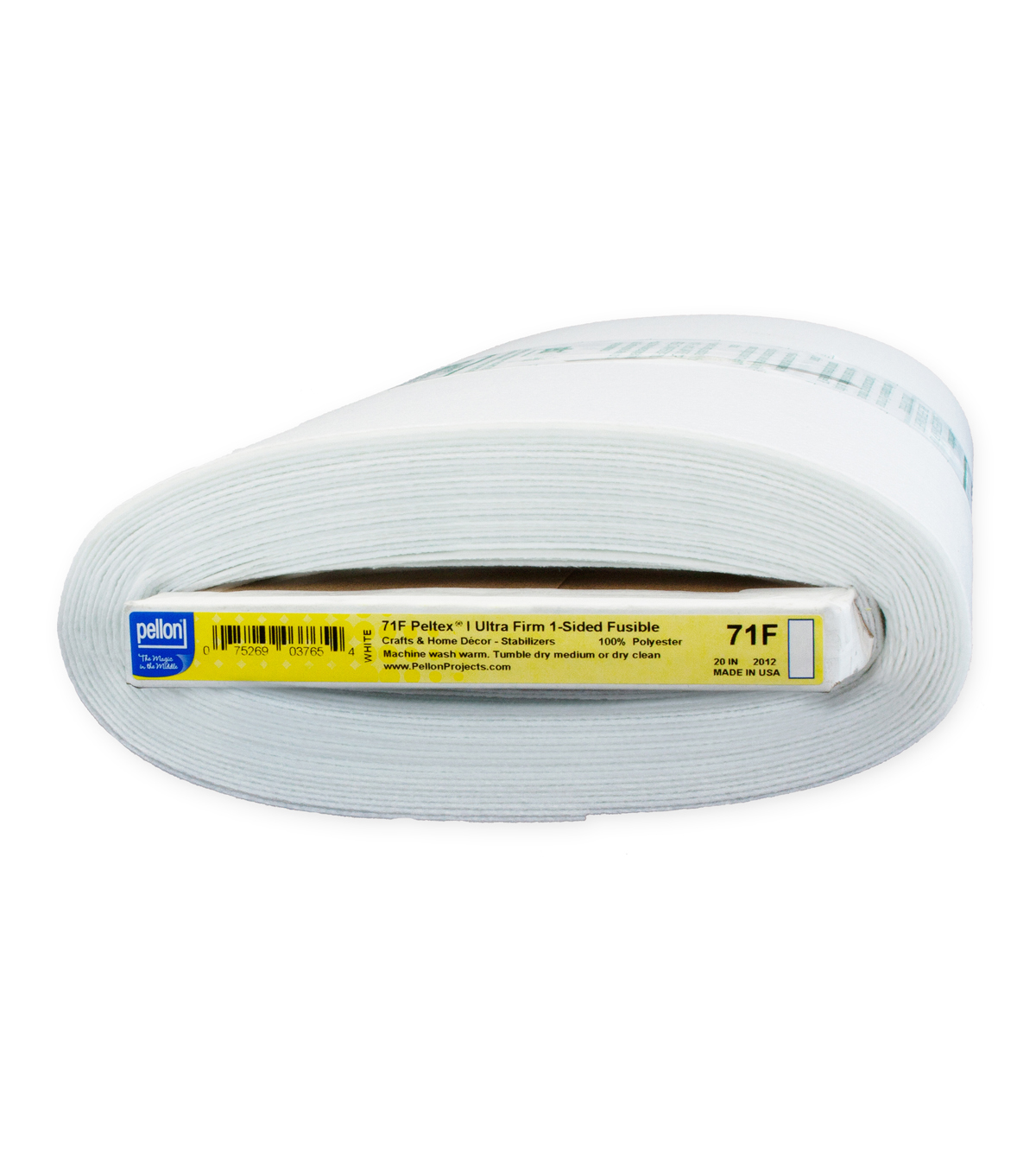 "Pellon® 71F Peltex® Ultra-Firm 1-Sided Fusible Stabilizer 20""x10yd Board"
