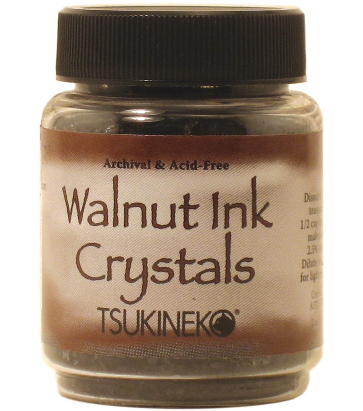 Tsukineko 2 oz. Walnut Ink Crystals-1PK