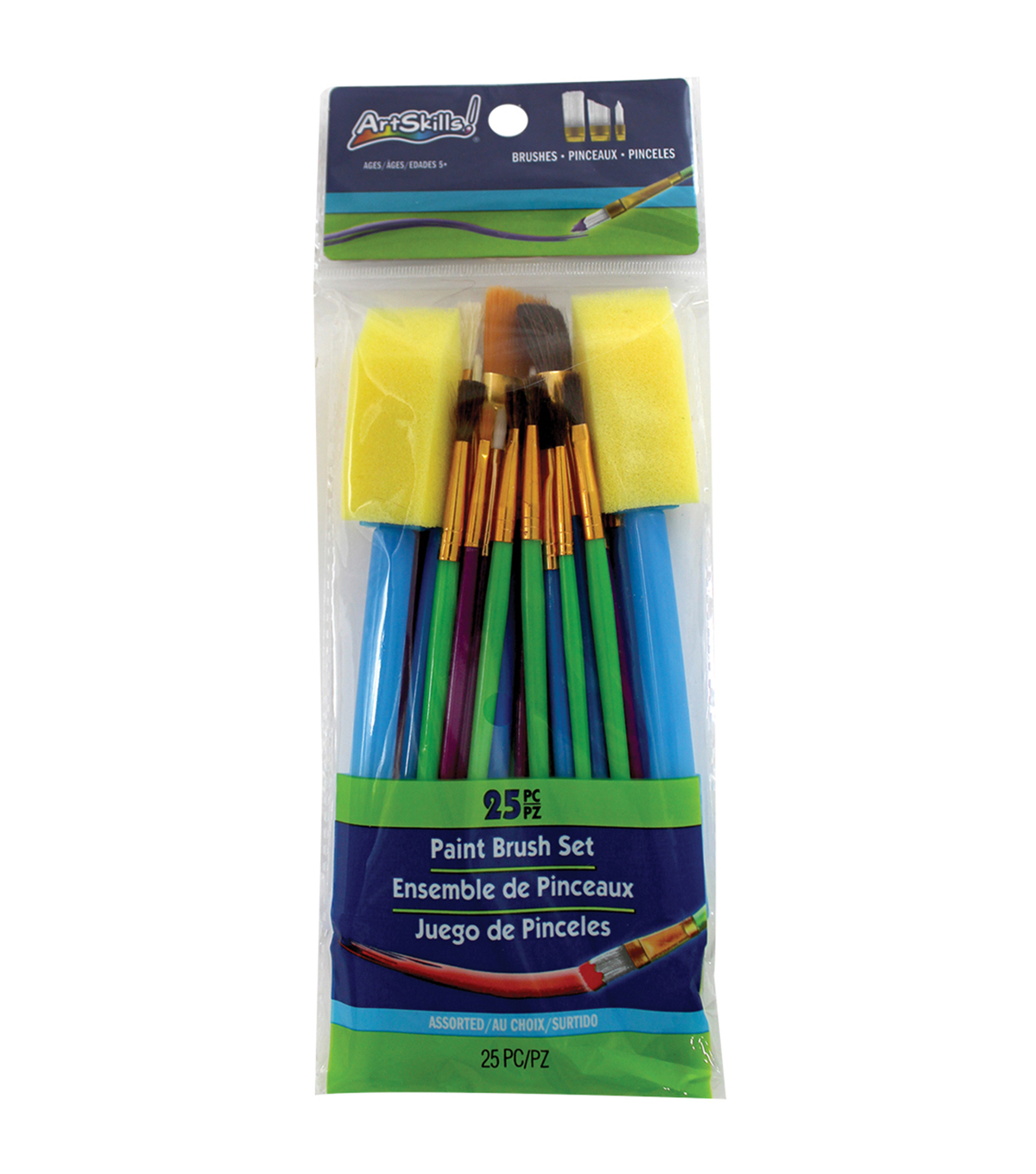 Artskills® 25pcs Paint Brush Set