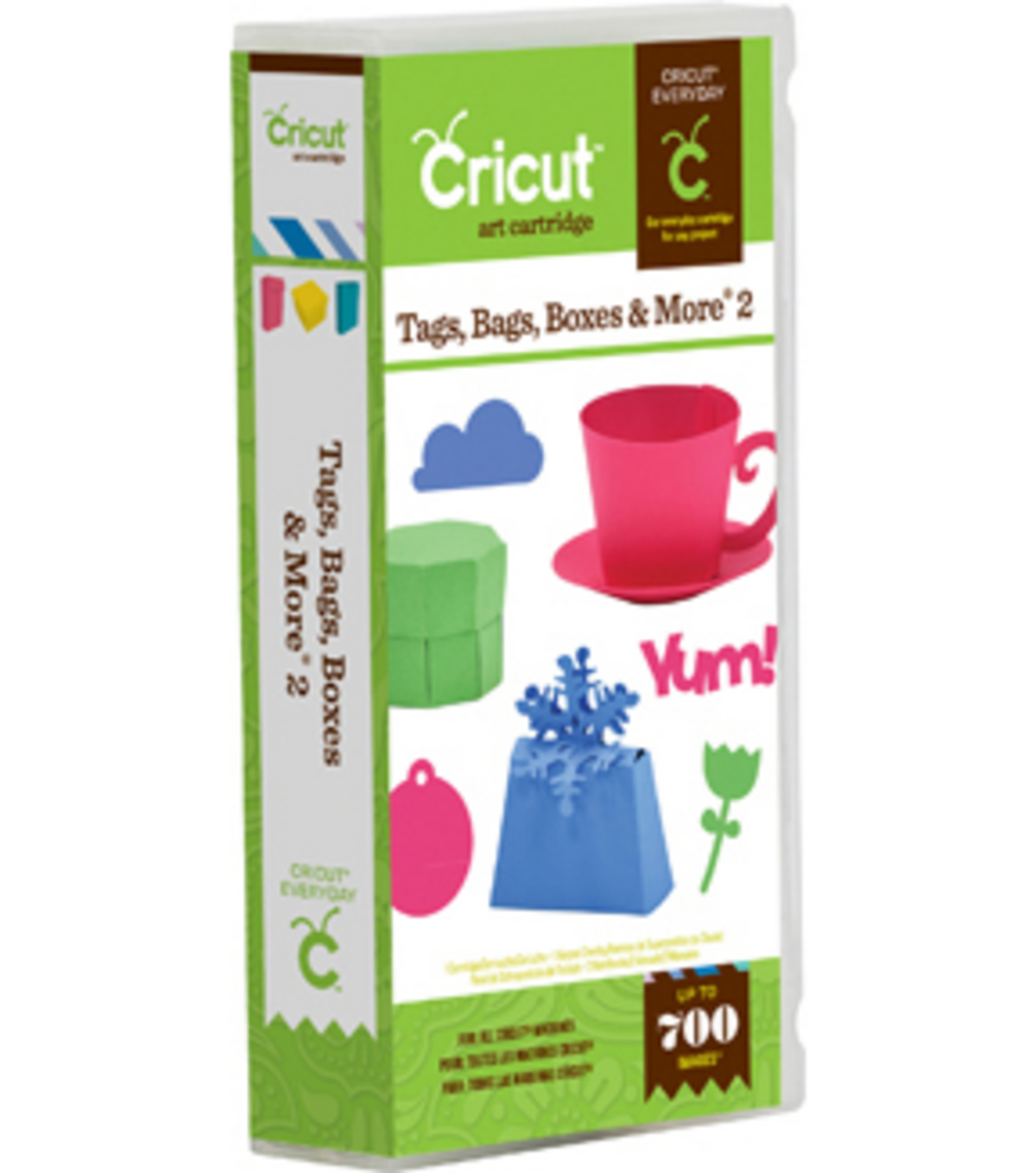 Cricut® Everyday Cartridge-Tags, Bags, Boxes & More 2