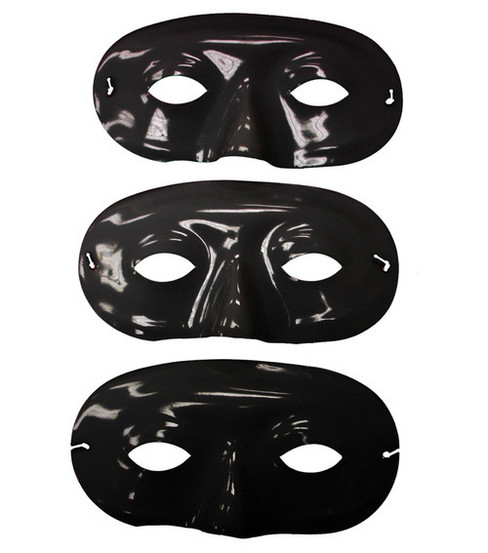 7-3/4\u0022 Mask-It Form-3PK/Black