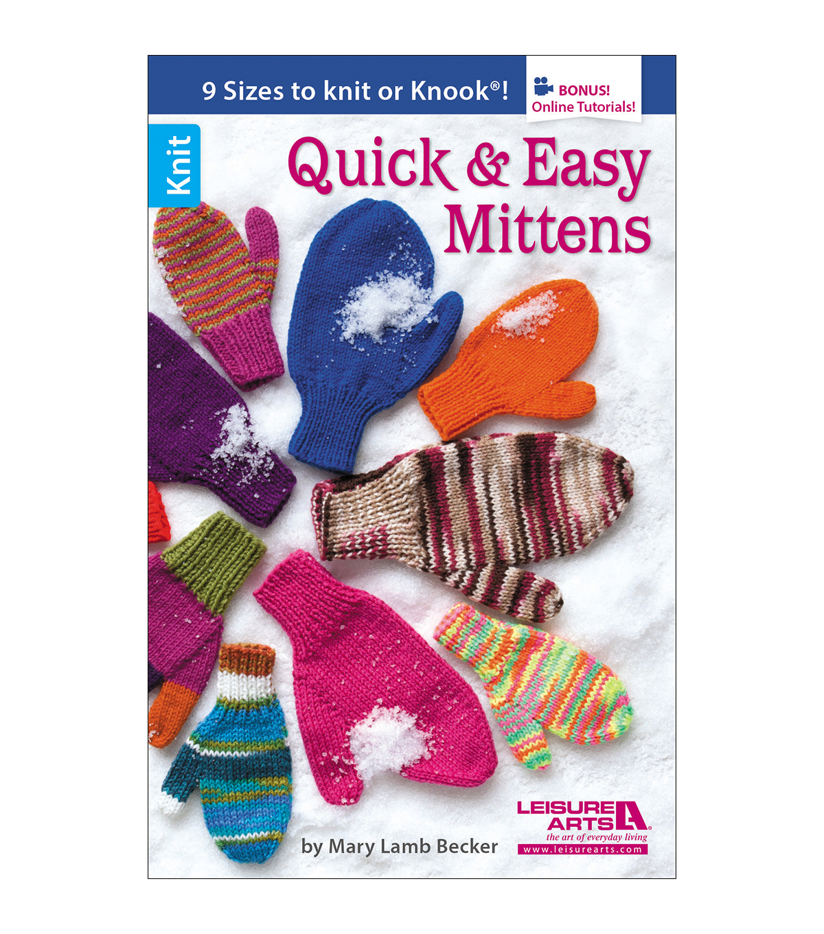 Mary Lamb Becker Quick And Easy Mittens Book