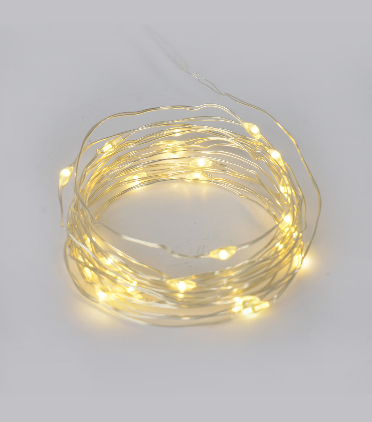 Bloom Room 25ct Battery Operated Rice Light Strand-Silver