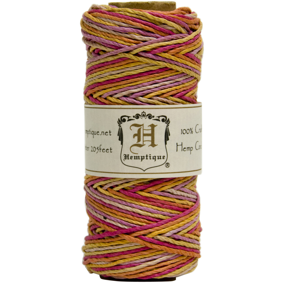 Hemptique Hemp Cord Spool Variegated 20#