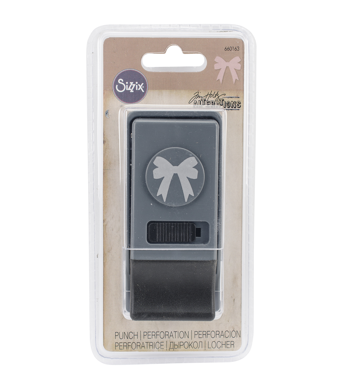 Sizzix® Tim Holtz® Medium Paper Punch-Bow