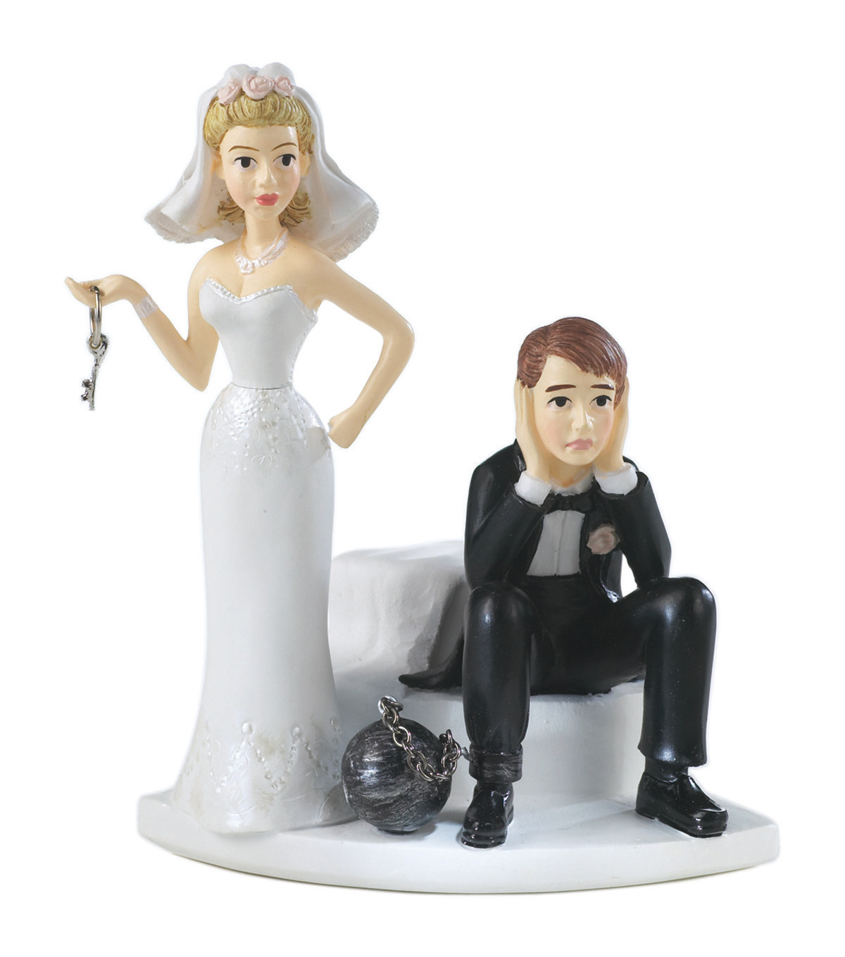 Wilton Cake Topper 4\u0022-Ball & Chain