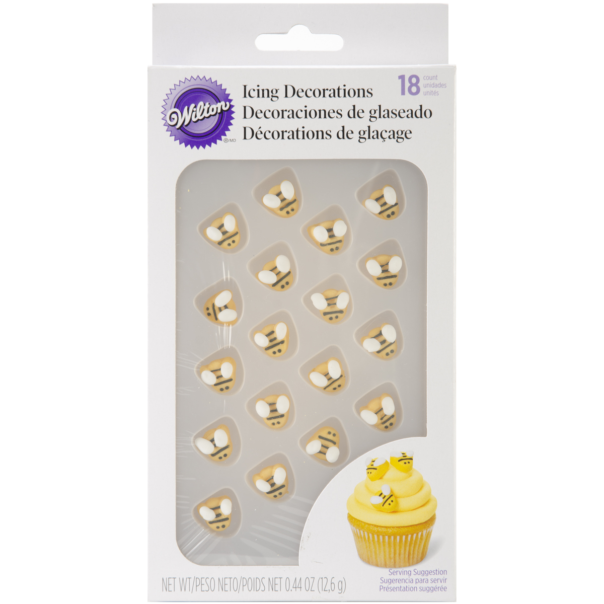 Royal Icing Decorations 18 Pkg Bumblebees