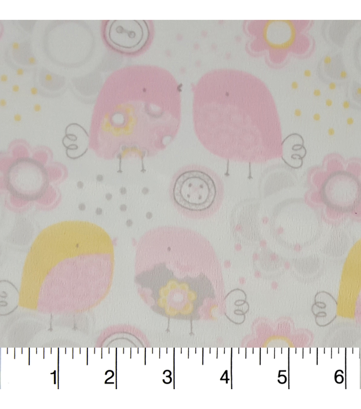 "Soft N Comfy Fabric 57""-Little Chickadee"