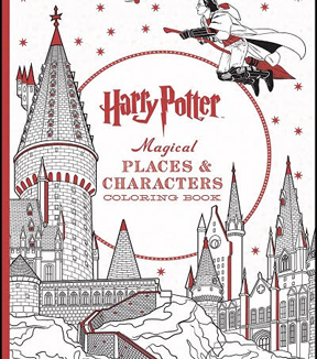 Harry Potter™ Magical Places & Characters Coloring Book