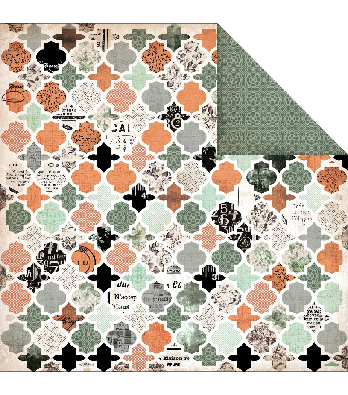 Kaisercraft Honourable - Mister Fox Double Sided Cardstock